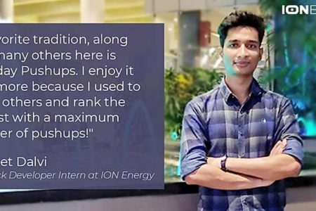 [In Conversation] Sanket Dalvi's fascinating Journey as a Full Stack Developer Intern at ION Energy Inc.