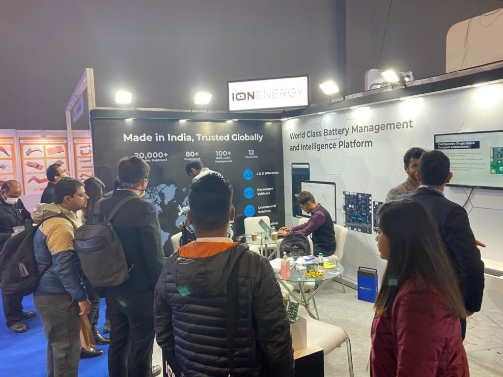 ion energy booth auto expo